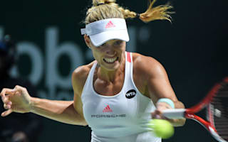 Kerber on brink of Singapore semi-finals