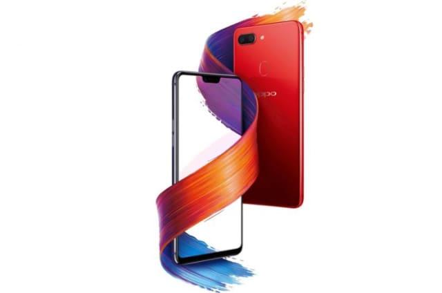 Oppo presenta su nuevo teléfono R15 y sí, también tiene 'notch'