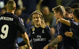 Malaga 0 Real Madrid 2: Ronaldo and Benzema on target to clinch title