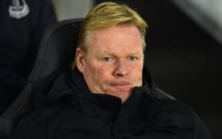 Everton need time and changes, says Koeman