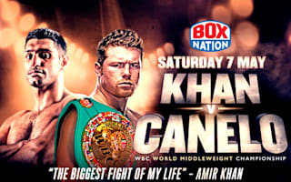 Watch Khan v Canelo - live and exclusive on BoxNation