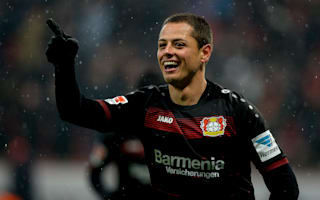 Chicharito return to form boosts Schmidt's Leverkusen for Atletico test