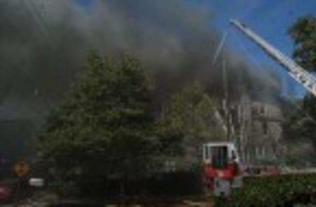 Fire Engulfs Century-Old Church in Philadelphia