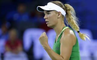 Resurgent Wozniacki to face Mladenovic in Hong Kong final