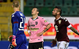 Palermo mark 1000th Serie A game with record run of home defeats
