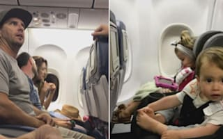 Family kicked off flight after refusing to give up toddler's seat