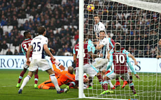 West Ham 2 West Brom 2: Evans snatches dramatic draw