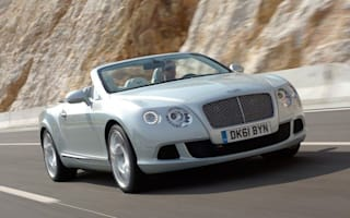 Qatar Motor Show: Brand new Bentley Convertible uncloaked