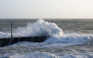 UK weather: Strong winds and rain to continue this weekend