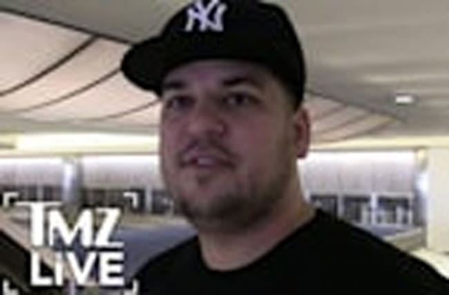 ROB KARDASHIAN: Deadly Weight Gain (TMZ Live)