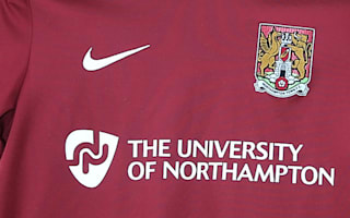 Northampton kits fail to arrive in time for season opener