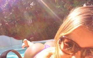 Sofia Vergara posts cheeky holiday snaps online