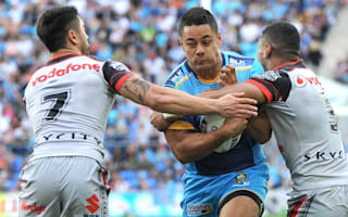 Hayne marks NRL return with error in Titans defeat