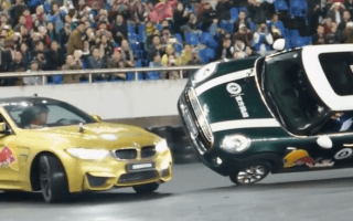 Bizarre stunt driving record smashed