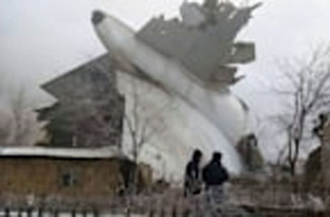Turkish cargo jet crash kills dozens in Kyrgyzstan