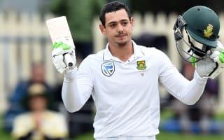 De Kock keeps South Africa in control