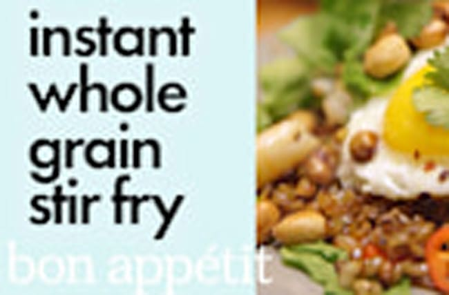 Bin It to Win It: Instant Whole Grain Stir Fry