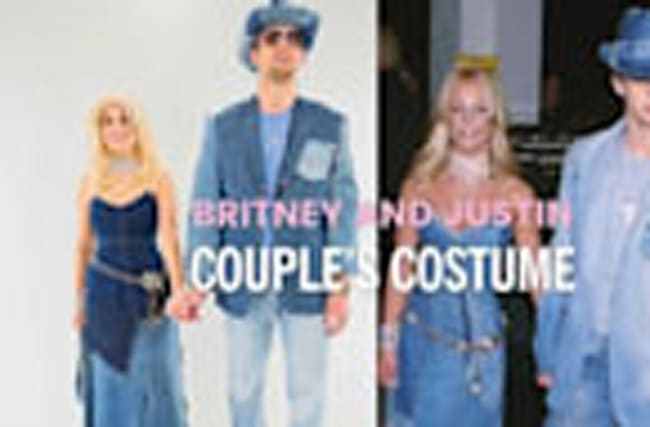 How to Make a Denim Britney and Justin Costume for Halloween