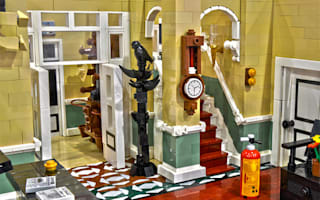 Fawlty Towers hotel immortalised in LEGO
