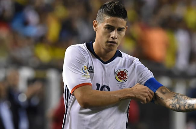 Colombia name squad for Venezuela, Brazil qualifiers