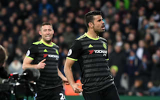 It was nothing - Costa dismisses 'row' with Chelsea boss Conte
