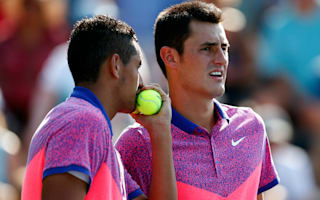 Kokkinakis: Tomic should have kept Kyrgios thoughts private