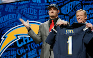 Bosa 'unable to contribute' 16 games, say Chargers