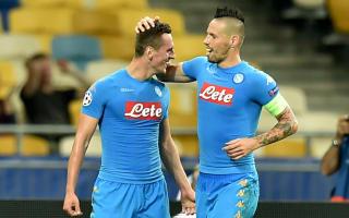 Dynamo Kiev 1 Napoli 2: Milik double the difference