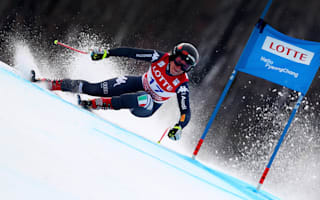 Goggia edges Vonn again in Jeongseon