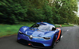 Amazing Renault Alpine concept - it's official