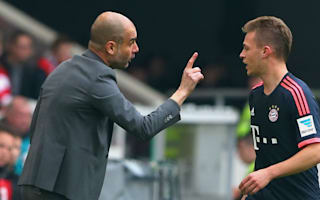 Kimmich: I do not miss Guardiola