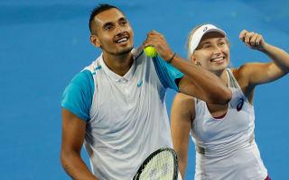 Gavrilova, Kyrgios seal Hopman Cup triumph for Australia
