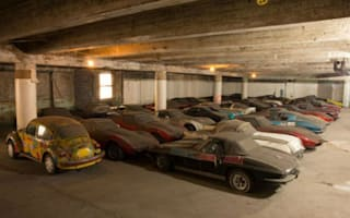 Collection of 36 Corvettes rediscovered after 25 years