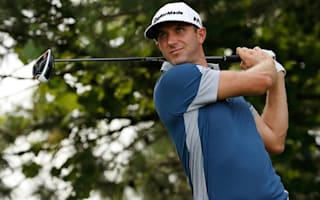 Johnson shares lead in Canada