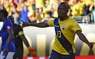 Ecuador 4 Haiti 0: Valencia and Co. through to Copa quarters