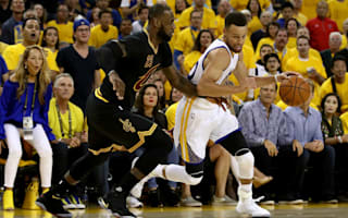 Warriors take 2-0 Finals lead against Cavs as Curry and Durant star