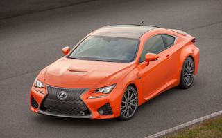 Lexus releases details of upcoming RC F sports coupe