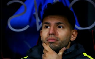 Being benched not a problem for Aguero