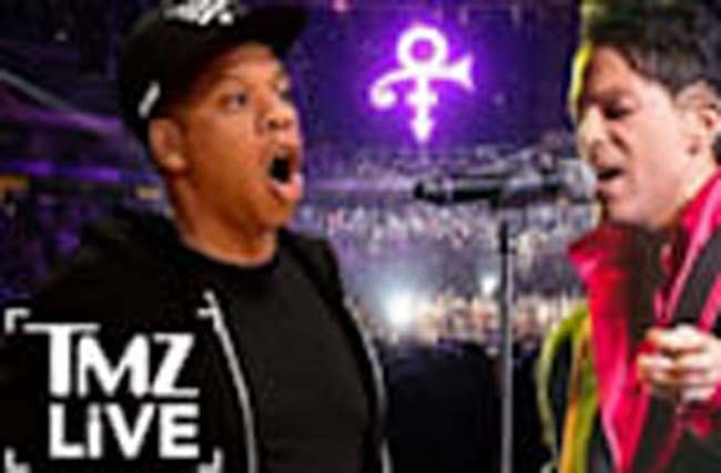 JAY Z Bid to Buy Unreleased PRINCE Music (TMZ Live)
