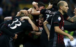 Montella: Rising Milan must handle new expectations