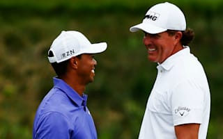 Mickelson forever grateful to Tiger Woods for making him rich