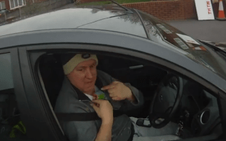 Motorist offers the most amazing excuse for driving too close to cyclist