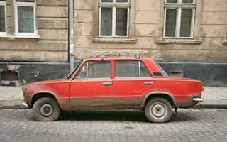 Russia kills off the Lada...while Lada nearly kills a Russian (video)