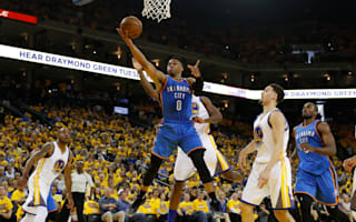 Thunder defeat Warriors in game one