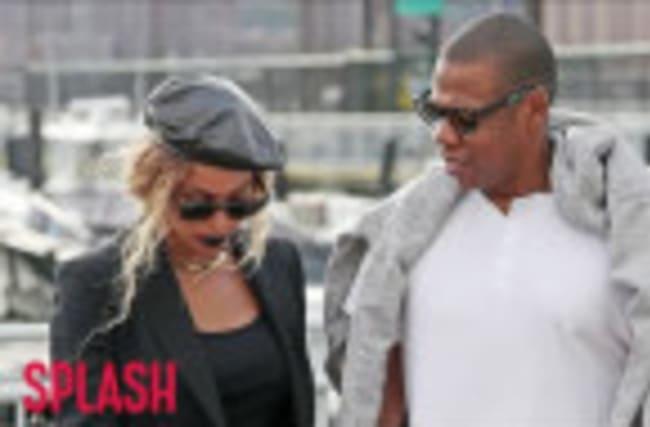 Beyoncé and Jay Z Bring Twins to Malibu Mansion