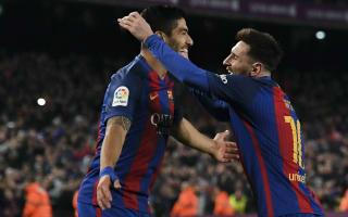 Messi deserves the Ballon d'Or every year - Suarez