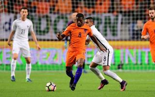 Wijnaldum battling hamstring injury before United clash