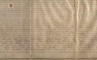 A copy of the Declaration of Independence found in England