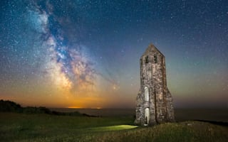 Amazing pictures of Milky Way over the Isle of Wight