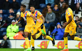 West Brom 0 Crystal Palace 2: Zaha and Townsend lift Eagles out of bottom three